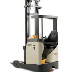 narrow chassis sit down reach truck